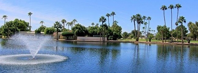 FOUNTAIN OF THE SUN + 55 GATED PATROLLED IN MESA AZ  EAST VALLEY PHOENIX AZ AVAILABLE  SEPT TO MAY