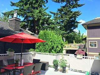Immaculate Kitsilano Vancouver BC Home with Huge Private Patio