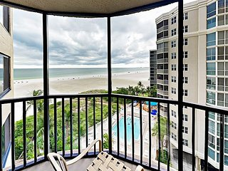 Beachfront 2BR Condo w/ Deck & Views – Near Fort Myers Beach Dining & Fun