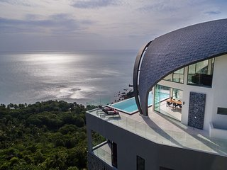 Luxury Sky Dream Villa & Loft with panoramic Sea View
