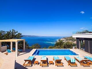 New! Modern & very luxury villa Kanunel with amazing panoramic sea views!