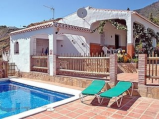 2 bedroom Villa in Frigiliana, Andalusia, Spain : ref 5455029