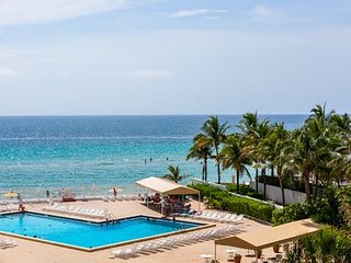 # Hollywood beachfron  high rise condo 1 bedrm/1,5 bath next to Diplomat Resort