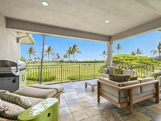 Hualalai Fairway Villa 116D 3 bd, /2 golf carts Beautiful Ocean & Golf Views