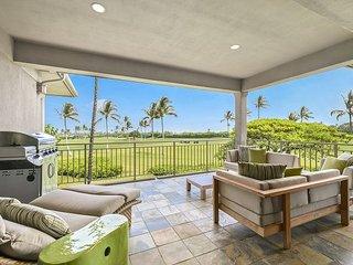 Hualalai Fairway Villa 116D - 3 bd villa with Beautiful Ocean & Golf Views