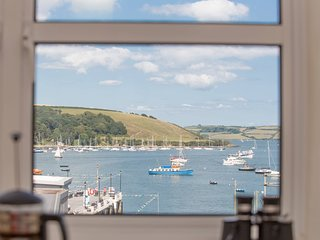 No 2 The Pier, a boutique apartment with parking and views across the water