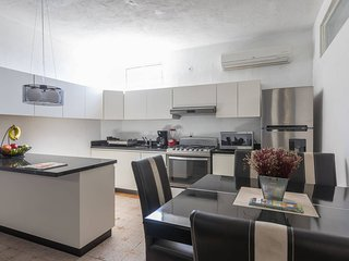 Central & Comfortable Flat With Private Terrace! 15 min walk to the Malecon.