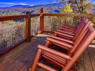 Imagine spending time with family & friends while gazing at the incredible mountain views.