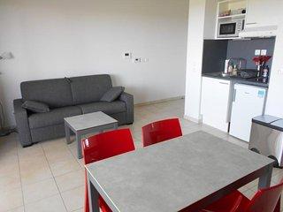 Studio cabine dans résidence neuve