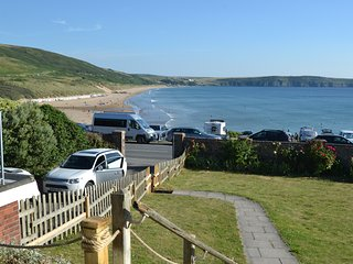 Cliff Cottage on Woolacombe seafront!