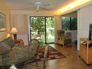 Maui Vacation Rental at Ma'alaea; Garden View in Beach Front Resort; 1BR/1BA