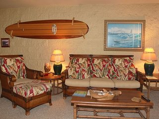 Corner Condo in Quiet Maui Beach Front Resort, Panoramic Views  2BR/2BA
