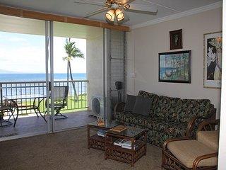 Maui Ocean Front Vacation Rental Condo in Quiet Resort—Spectacular Ocean View