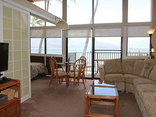 Maui Vacation Rental in Ma'alaea; Beach Front & View Condo; 2BR/2BA; Sleeps 6