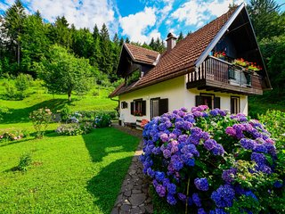 Brod na Kupi Holiday Home Sleeps 6 with Pool Air Con and Free WiFi - 5779770