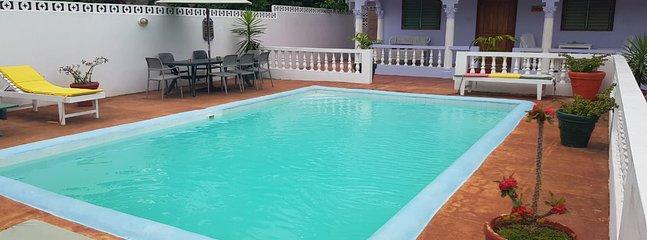 The Pool is always kept pristine clean