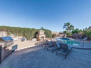 NEW LISTING! Gorgeous renovated home w/pool, outdoor fireplace & pool table