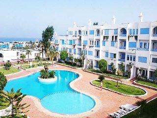 Appartement vue sur mer et piscine à Kabila vista M'diq