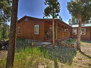 NEW!2-Acre Fairplay Cabin w/Deck & BBQ-Near Breck!