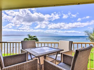 NEW! Stunning Oceanfront Maalaea Condo - Mtn Views
