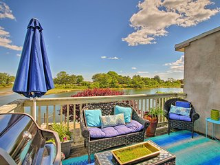 NEW! Upscale Waterford Home w/Deck & Outdoor Bar!