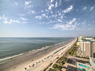 NEW! Oceanfront Myrtle Beach Condo w/ Pool Access!
