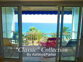 Ashley&Parker - EMANUELLA VUE MER - On the Promenade des Anglais with terrace