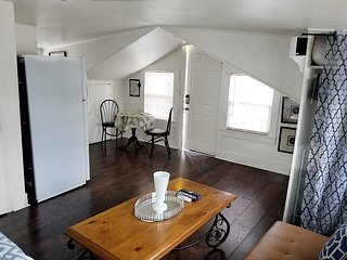 New-Charming Loft with Private Deck!