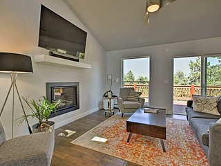 NEW! Modern Morrison Home w/ Deck & 2 Fireplaces!