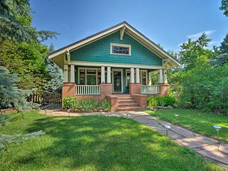 Historic Home 2 Miles to Downtown Colorado Springs