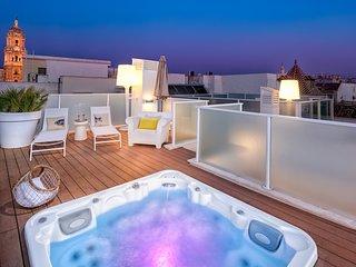 iloftmalaga Premium Calle Nueva 5B, Jacuzzi y terraza privada