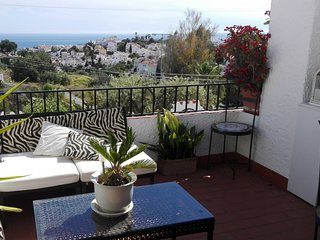 Casa LeStia, Nerja, Capistrano Village, wonderful accommodation with sea viees.