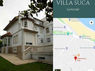 Villa Suca Chalet en el Sardinero, Santander a 200 metros de las playas