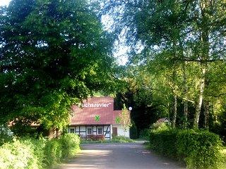 DAS FUCHSREVIER im Naturschutzgebiet Elm im Reitlingstal