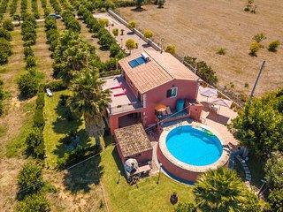 Villa Adria (villa in campagna con piscina privata e vasca idromassaggio)