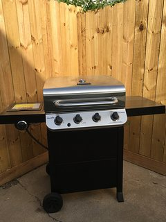 BBQ grill for those who want to save $ and cook at home.