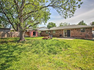 NEW! Cozy Home w/Yard - Mins from Downtown OK City