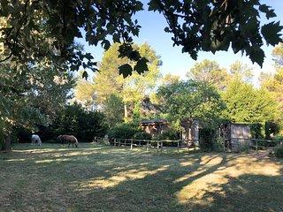 Cabane de la Leque,calme et confort dans la nature