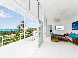 Villa Alba - Lichtdurchflutete Poolvilla mit Meerblick, Laufdistanz zum Strand