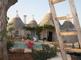Trulli Fairy County con piscina