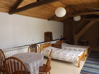 Eco studio apartment in the Tortoise Centre, Banya village, 6 km. from the sea
