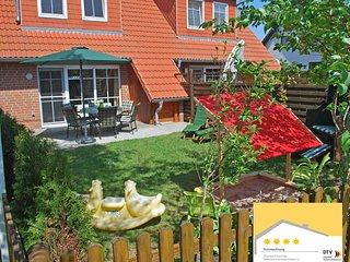 Familienfreundliches Luxus 4-Sterne Muritz Ferienhaus fur Familien mit Kindern.