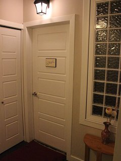 Suite entrance once inside the house