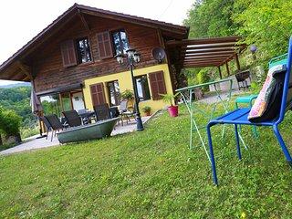 Magnifique Chalet 4* de 2 à 8 pers proche Colmar et de ses villages touristiques