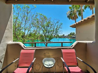 NEW! Chandler Resort Condo w/Lake Views & Balcony!
