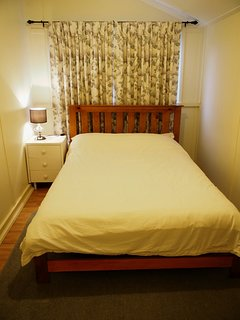 Small third bedroom with double bed