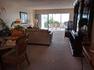 The Gulf of Mexico can be enjoyed from all of the living areas.