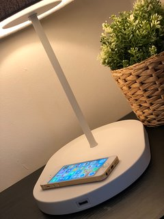 Charge your iPhone on the charging plate or charge your device with the usb connection.
