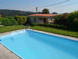 Chale con jardin y piscina independiente junto a playa de MINO