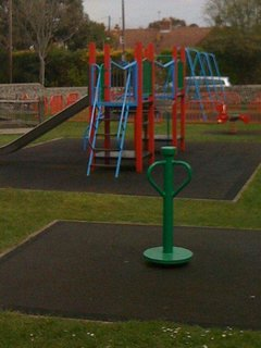 Play area in Sea Road
